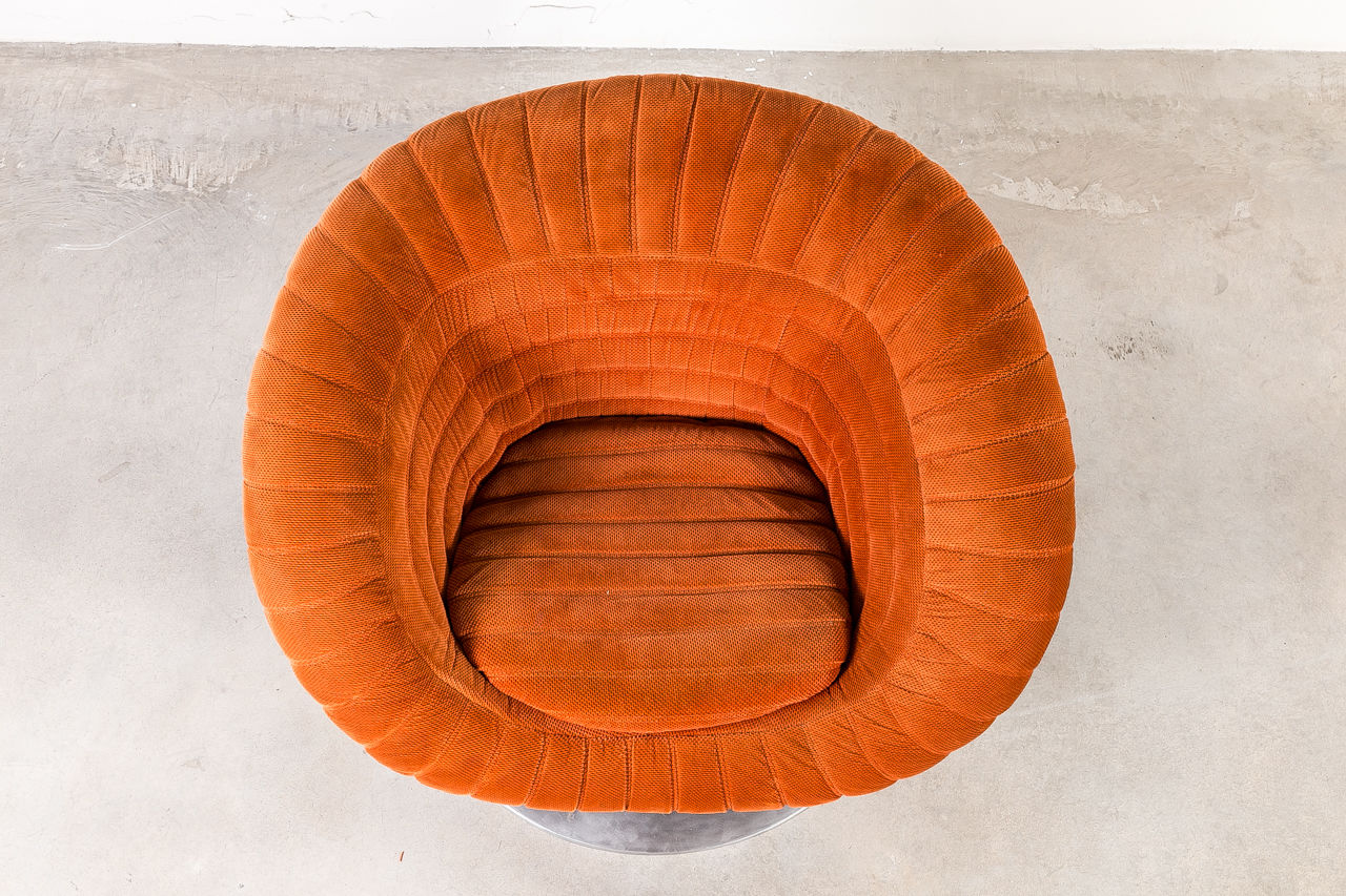 1970s Adriano Piazzesi tulip chair