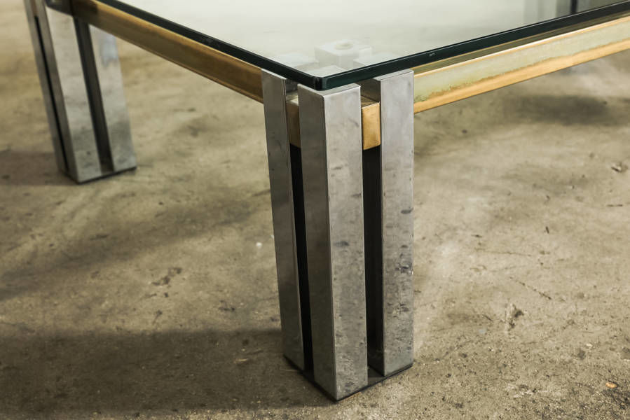 1970s Italian Coffee Table by Romeo Rega