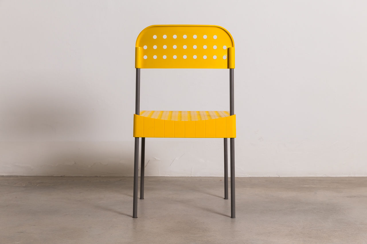 Anomia Castelli box chair 1971 Italy