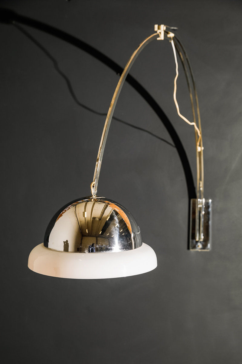 Arco wall light by Goffredo Reggiani