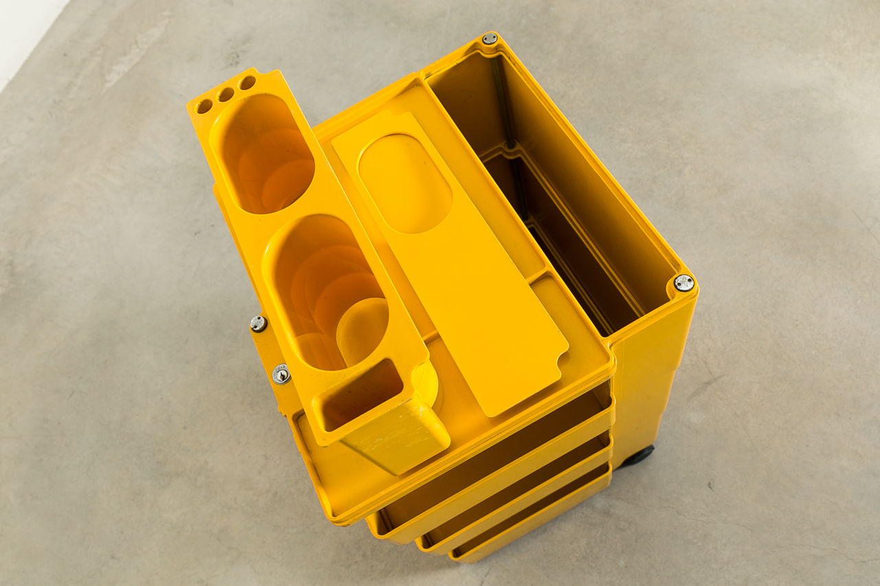Boby 3 Portable Storage System by Joe Colombo Circa 1970 Italy