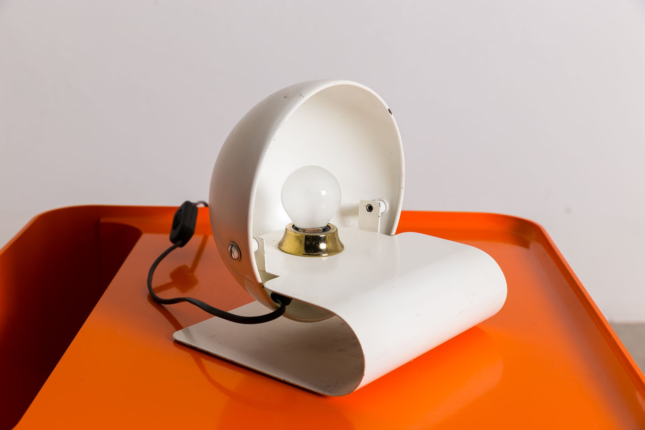 Bugia desk lamp by Giuseppe Cormio for IGuzzini Circa 1970