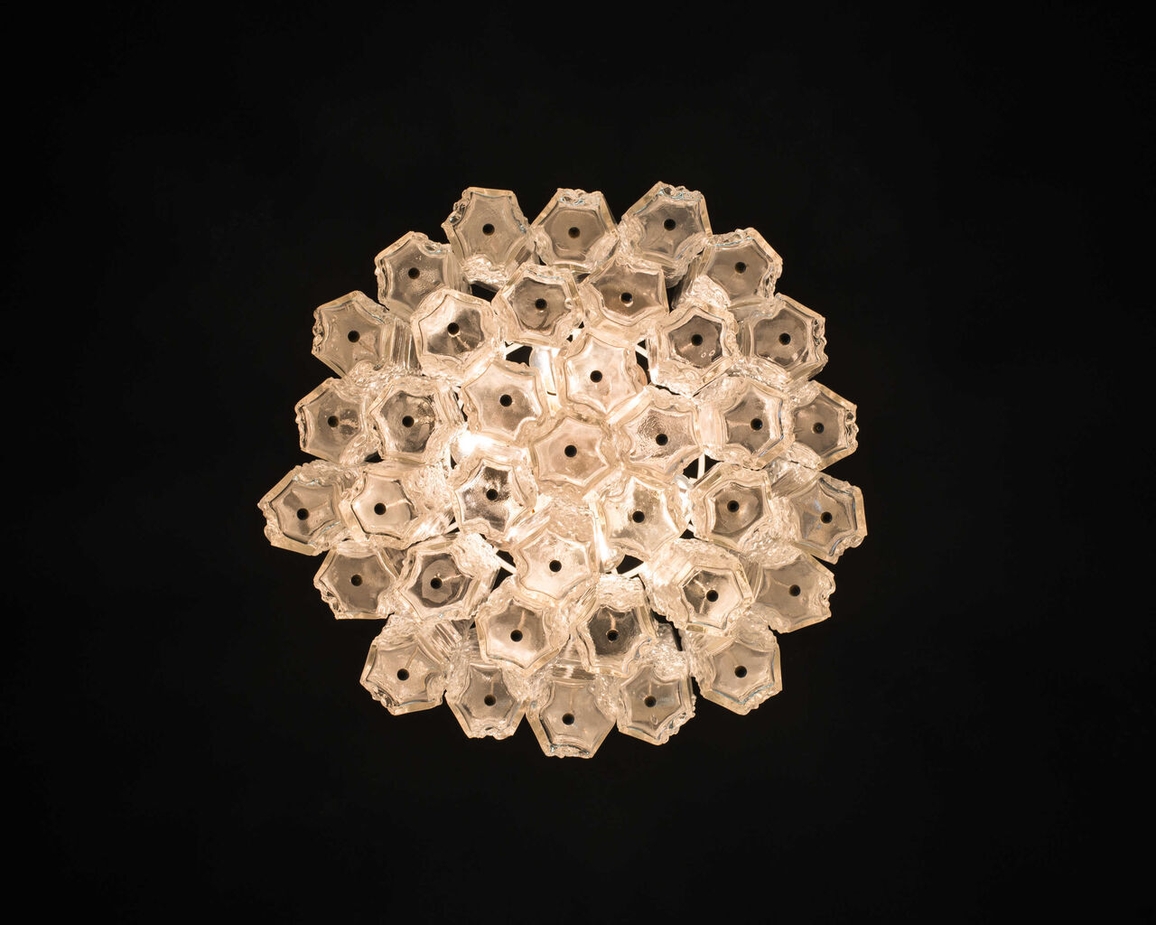 Chandelier By Toni Zuccheri For Venini 1960s