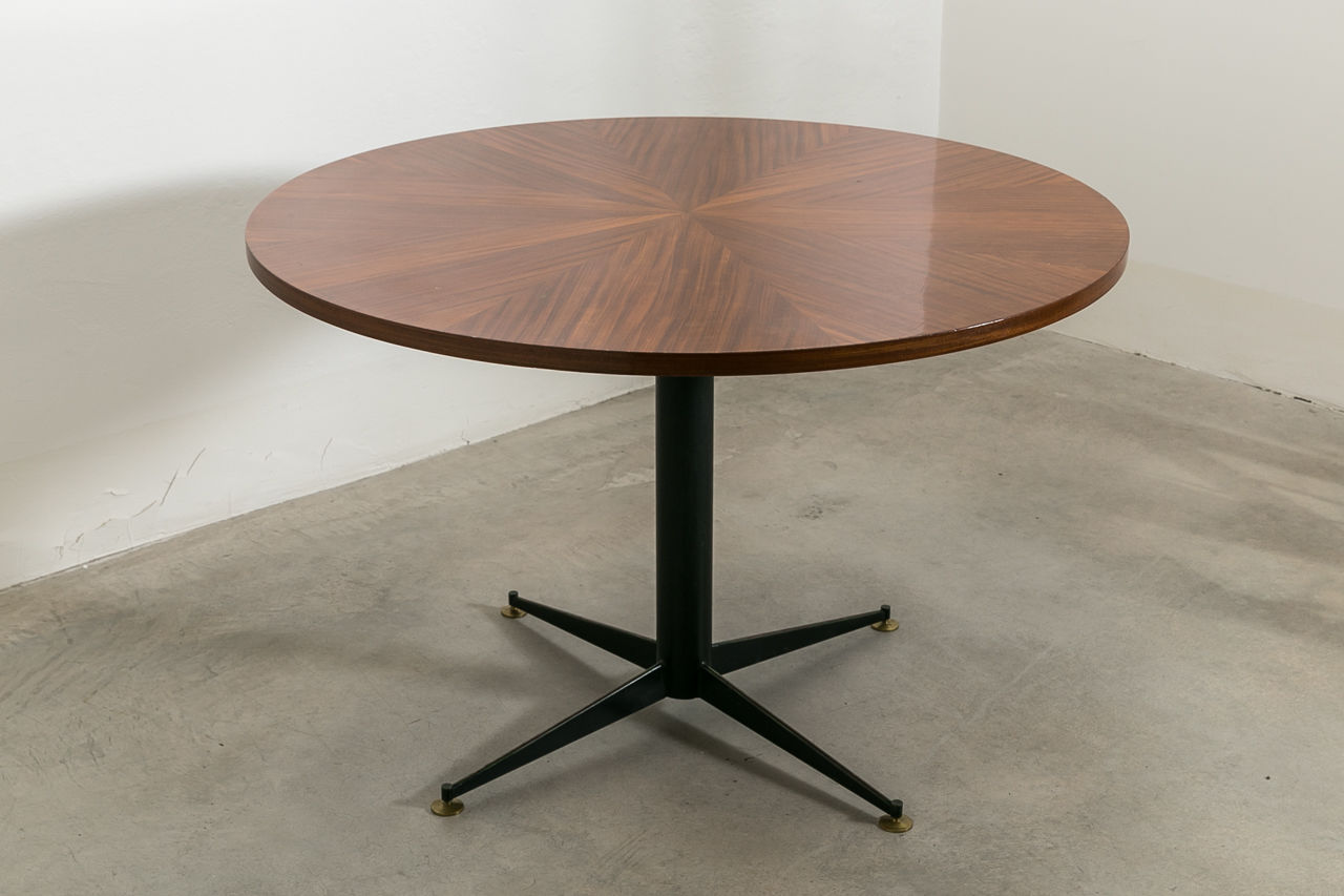 Circular Dining Table by Vittorio Nobili Circa 1950 Italy