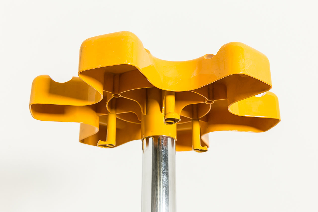 Coat Rack by Roberto Lucchi and Paolo Orlandini Circa 1970 Italy