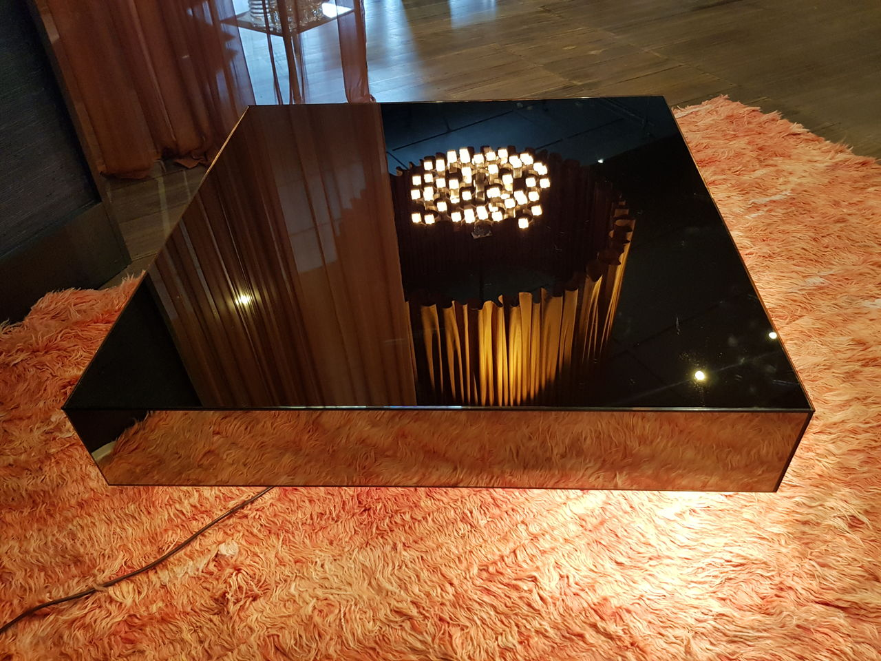 Coffee table by Willy Rizzo