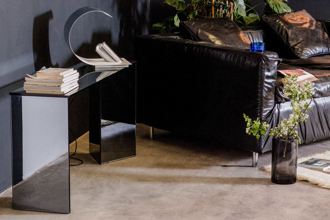 Cristalart Mirrored Console Table