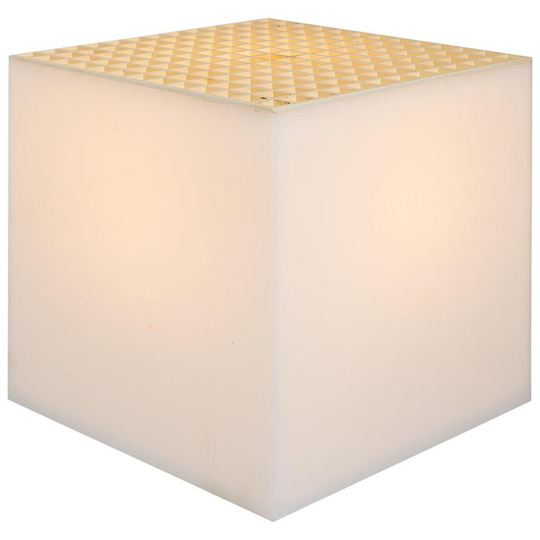 Cube Table Lamp by Cini & Nils, circa 1960