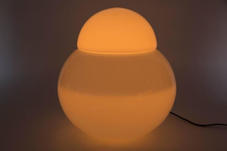 Daruma Table Lamp designed by Sergio Asti for Fontana Art 1968