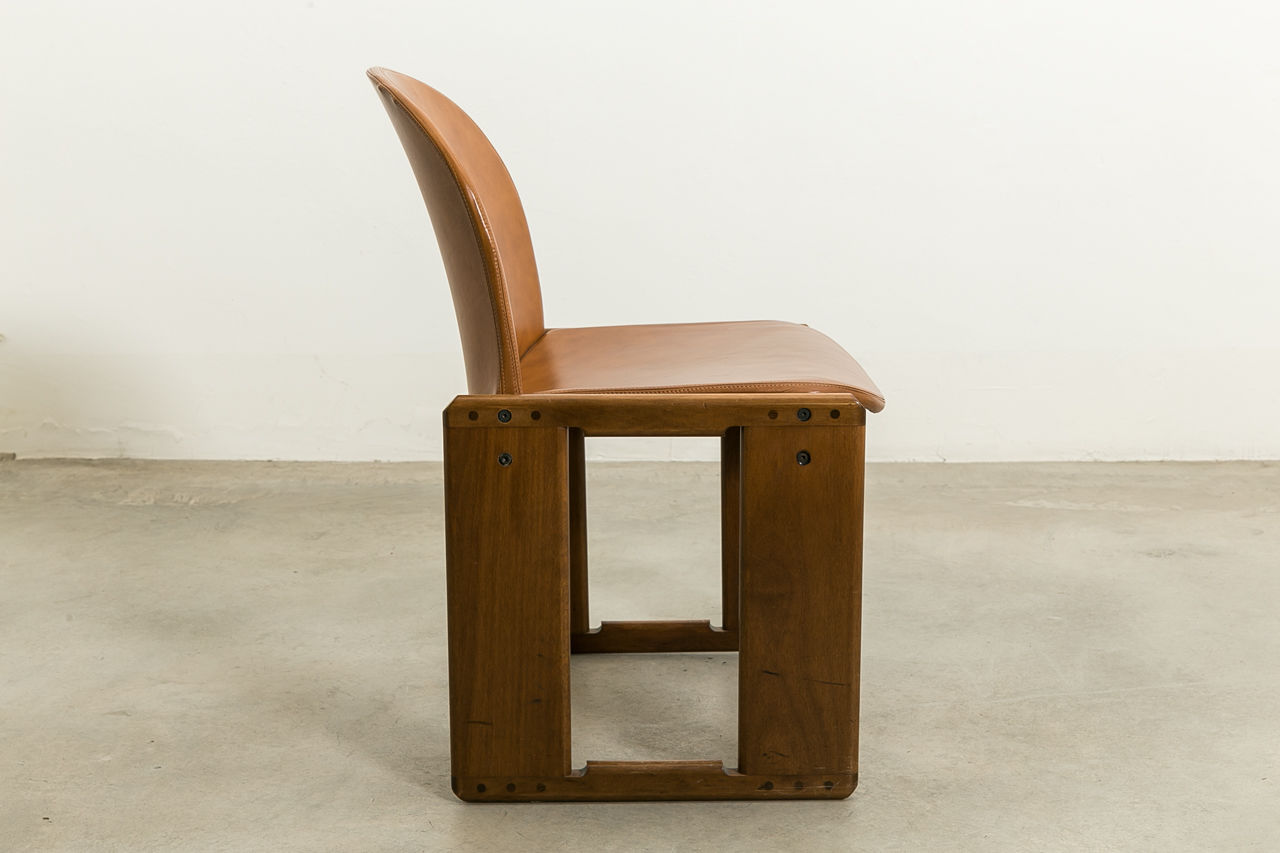 Dialogo Dining Chair by Afra and Tobia Scarpa for BandB Italia Circa 1970 Italy