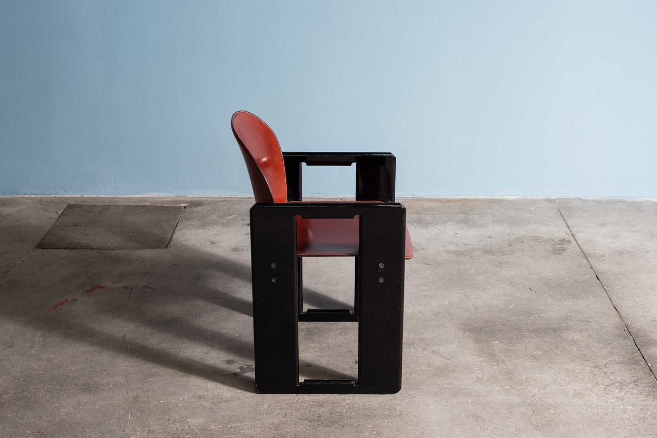 Dialogo Dining Chair by Afra and Tobia Scarpa for BandB Italia Set of 4