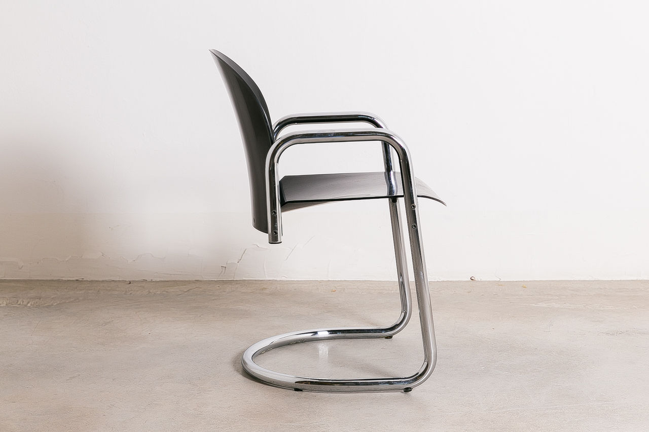 Dialogo Dining Chair by Tobia and Afra Scarpa 1970 Italy