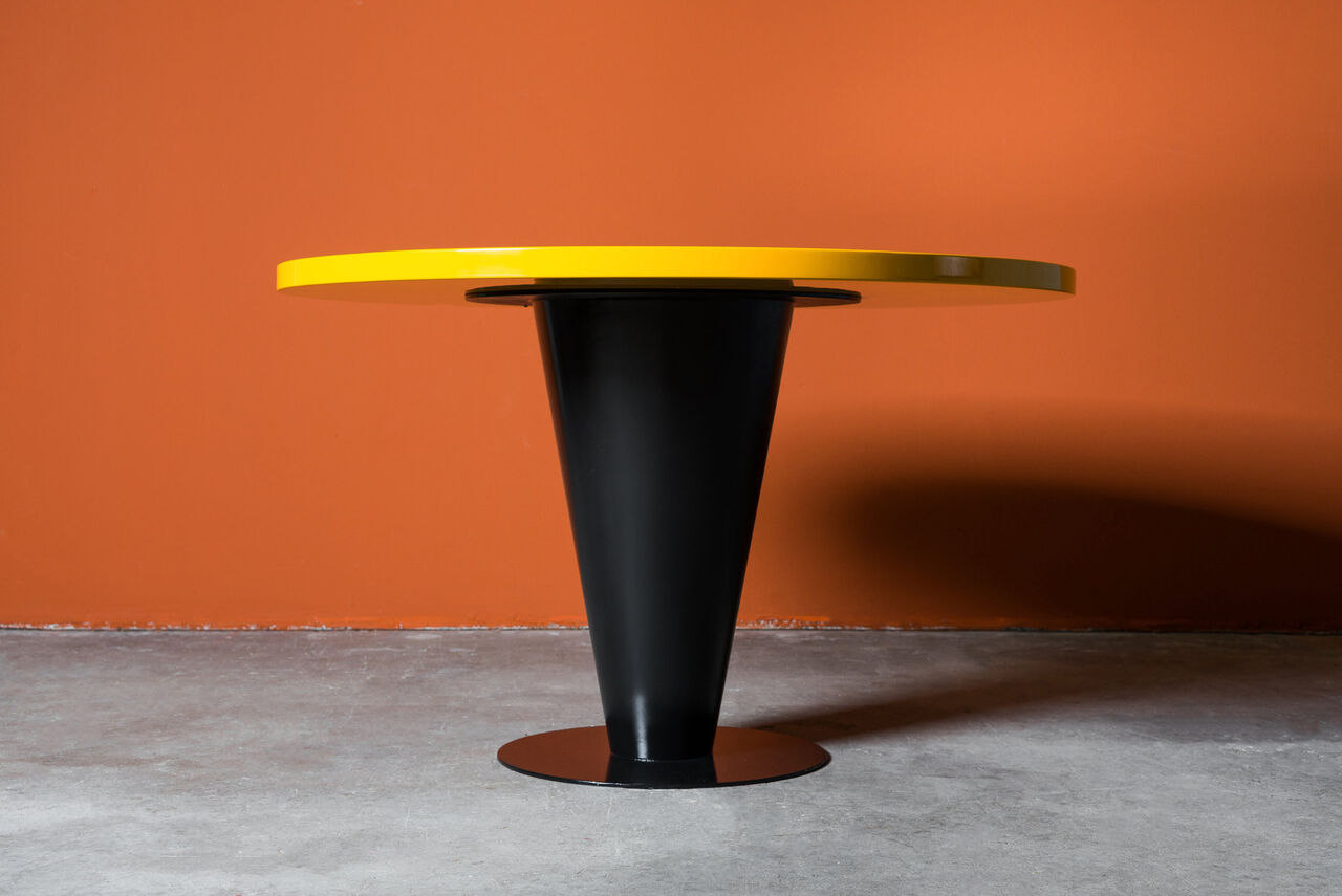Dining Table by Joe DUrso for Bieffeplast 1980s