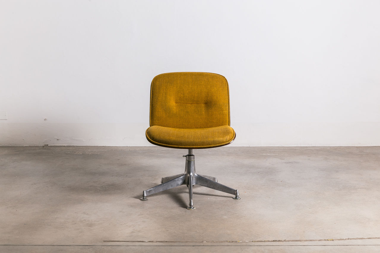 Ico Parisi Desk Chair with Fabric Seat for MIM