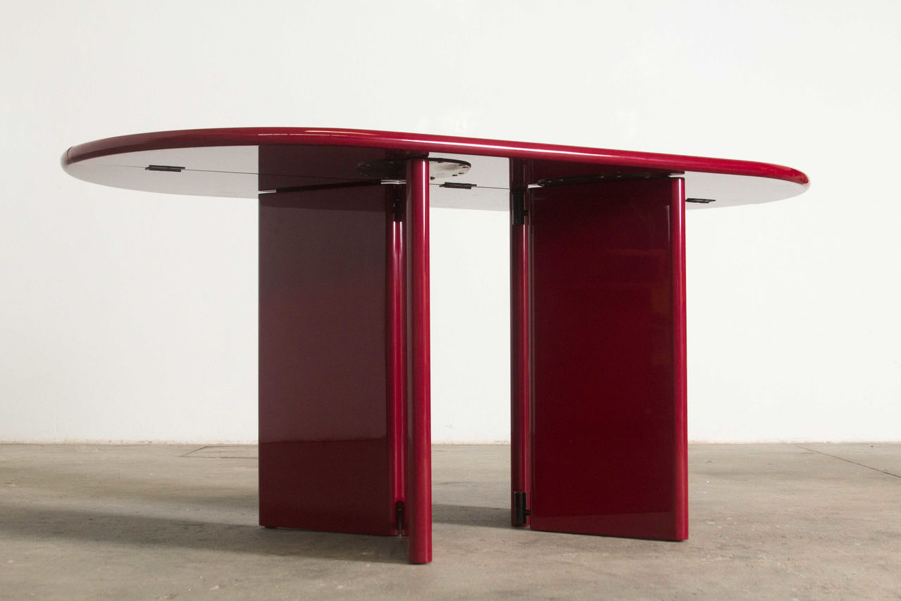Italian lacquered console table