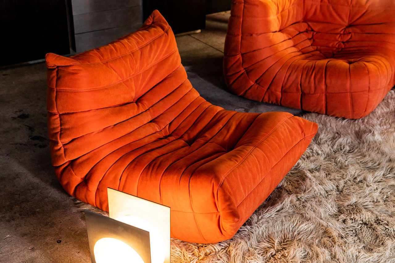 Ligne Roset Togo Set by Michel Ducaroy