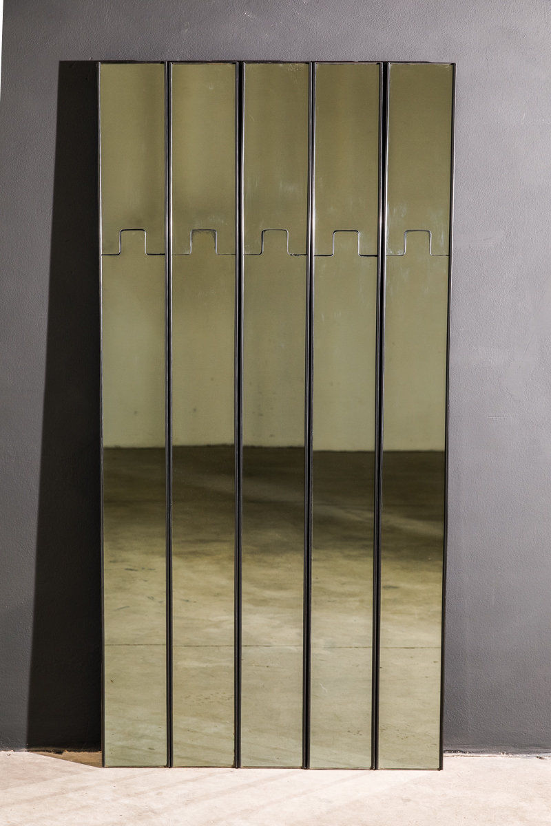 Luciano Bertoncini Gronda Mirrored Coat Racks