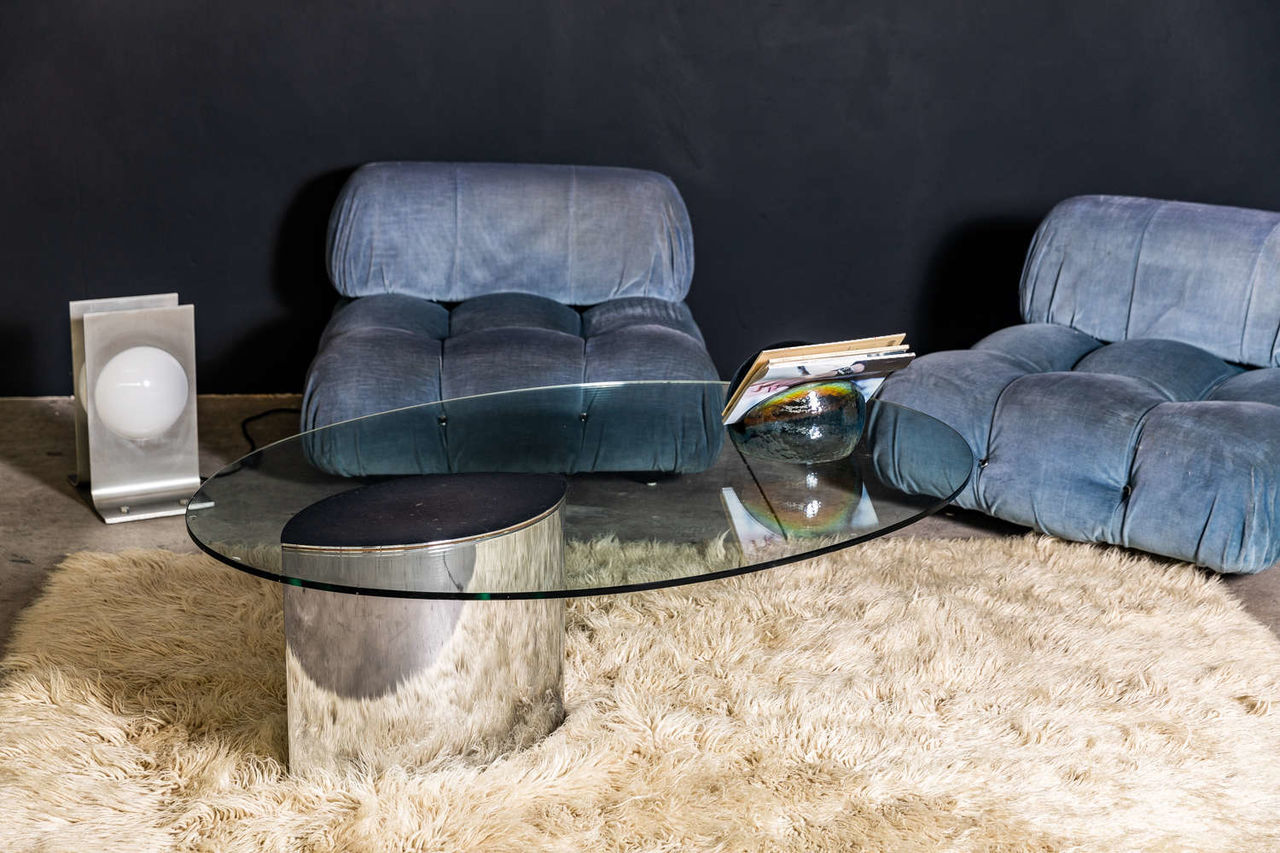 Lunario Table by Cini Boeri for Knoll