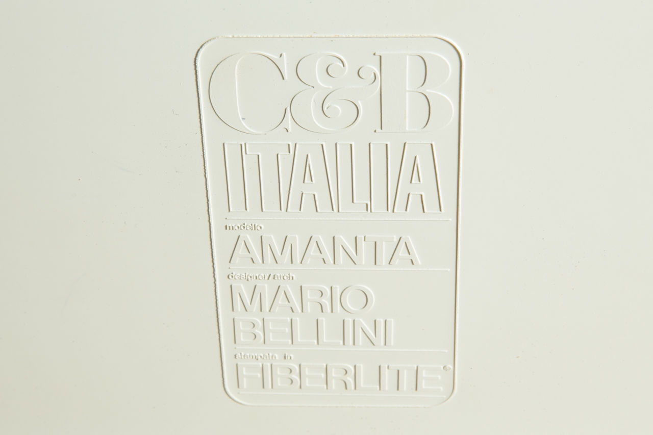 Mario Bellini for CandB Italia Amanta chair