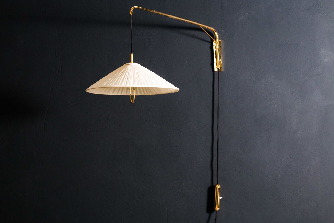 Martinelli Luce wall lamp 1960s Italy