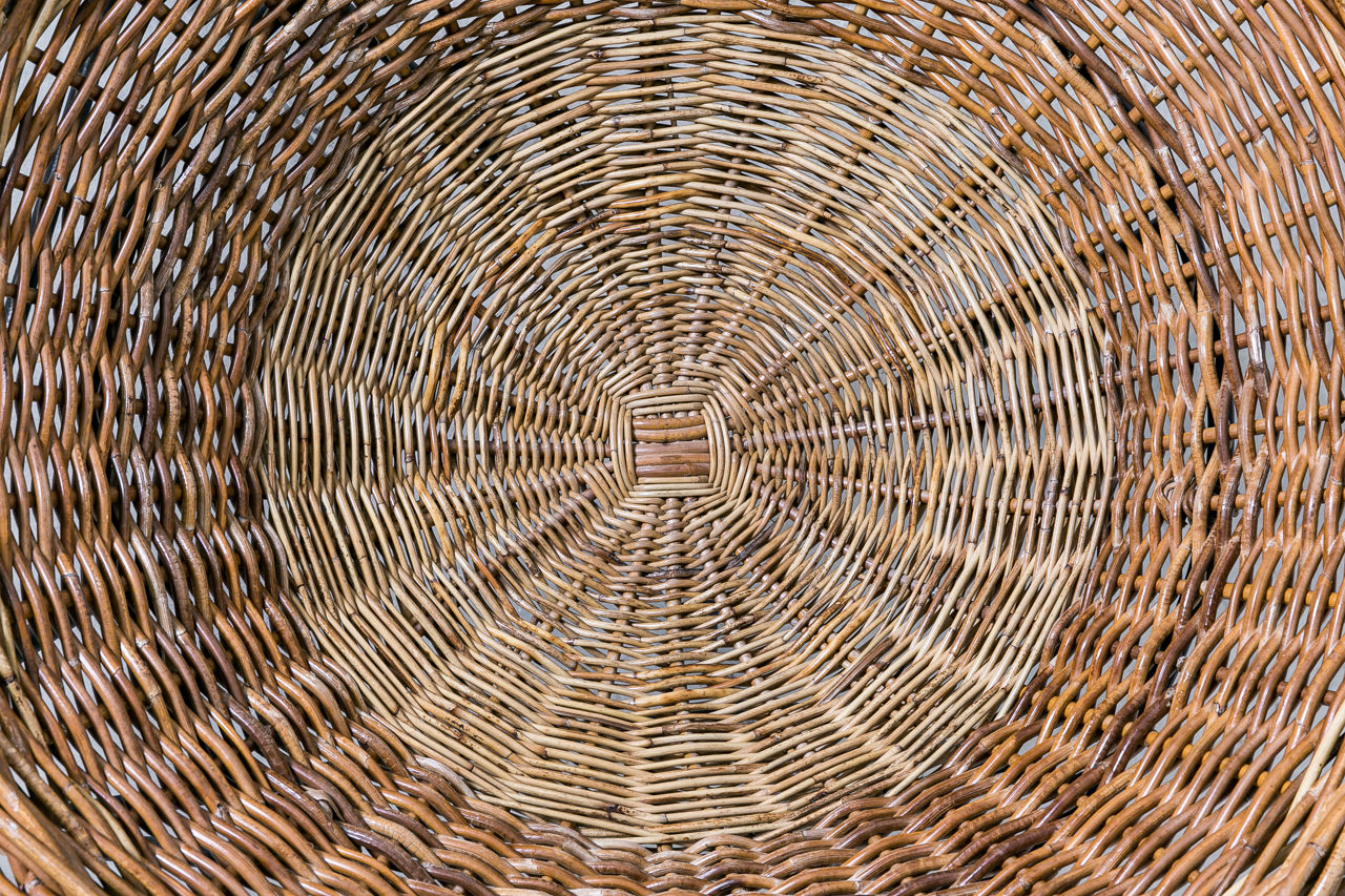 Mathieu Mategot Wicker Chair