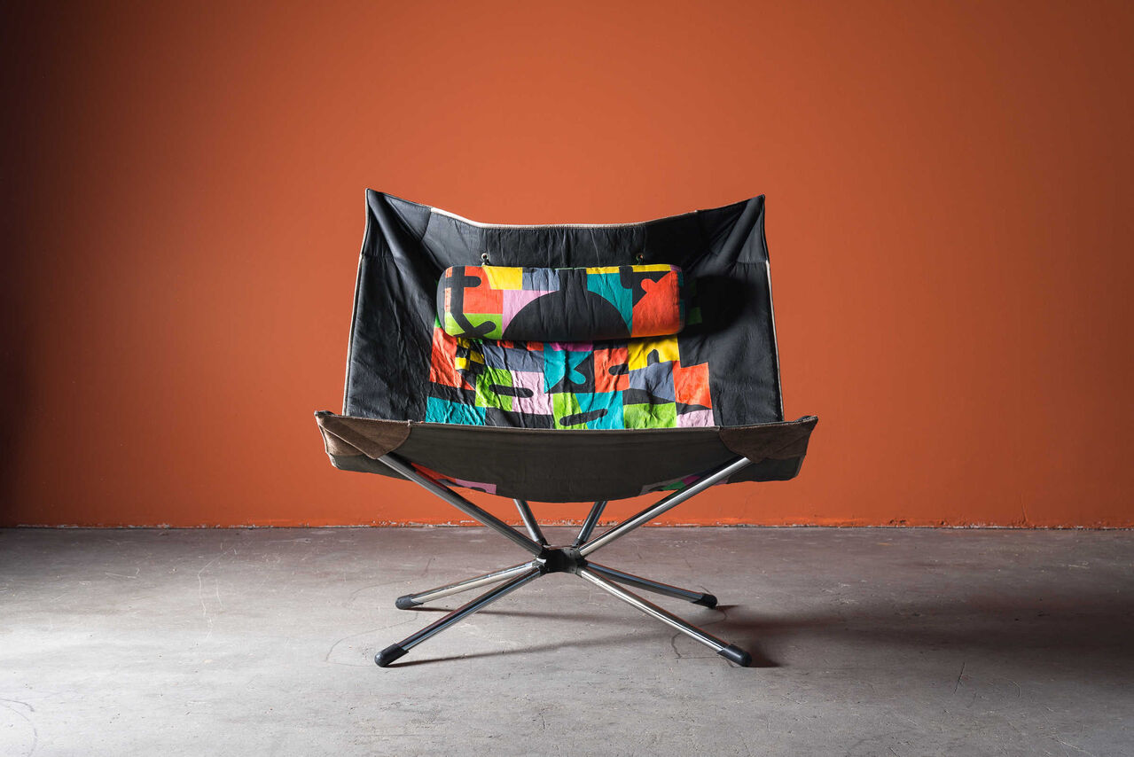 Miamina chair by Alberto Salviati and Ambrogio Tresoldi for Saporiti