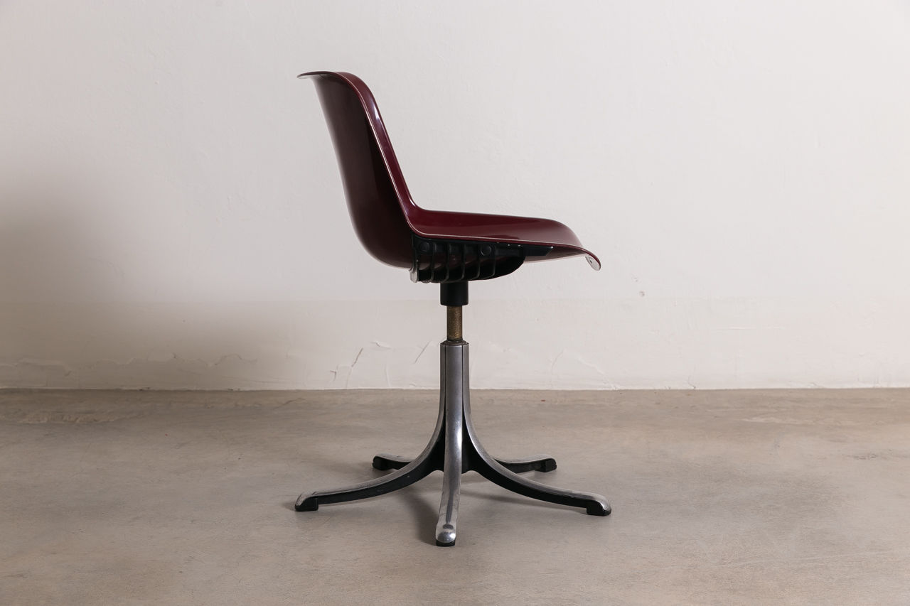 Modus Chair by Osvaldo Borsani for Tecno