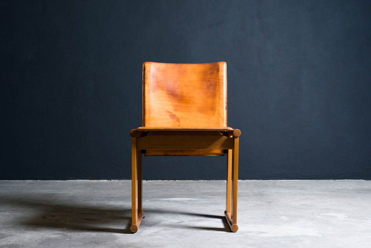 Monk Chair by Afra and Tobia Scarpa