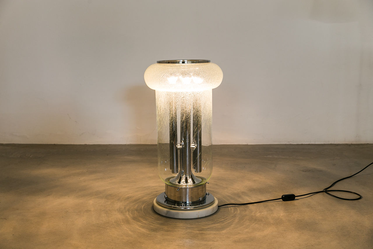 Murano glass floor Lamp Circa 1960 Italy