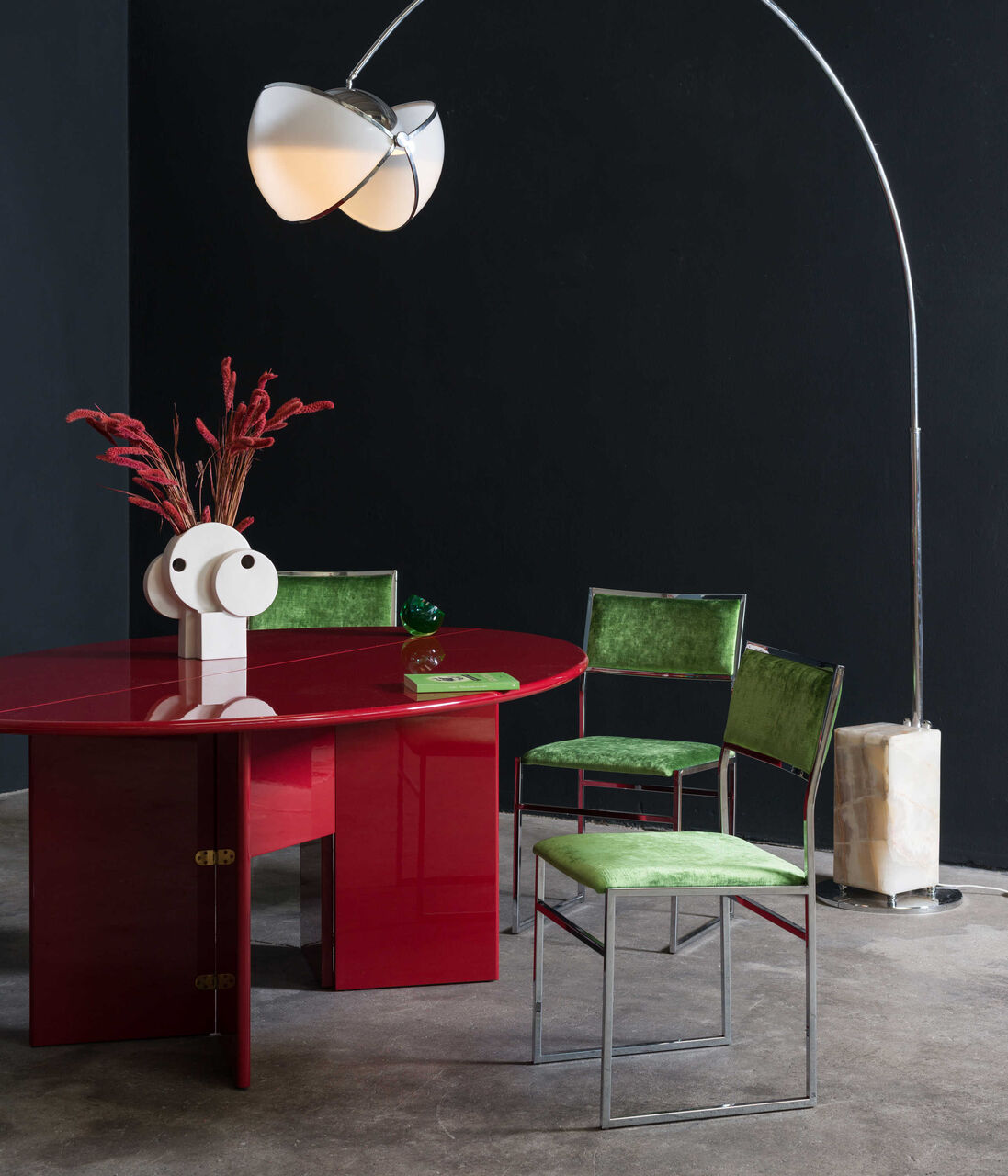 OOLOKMOLOK Arco Lamp by Superstudio 1968 Italy