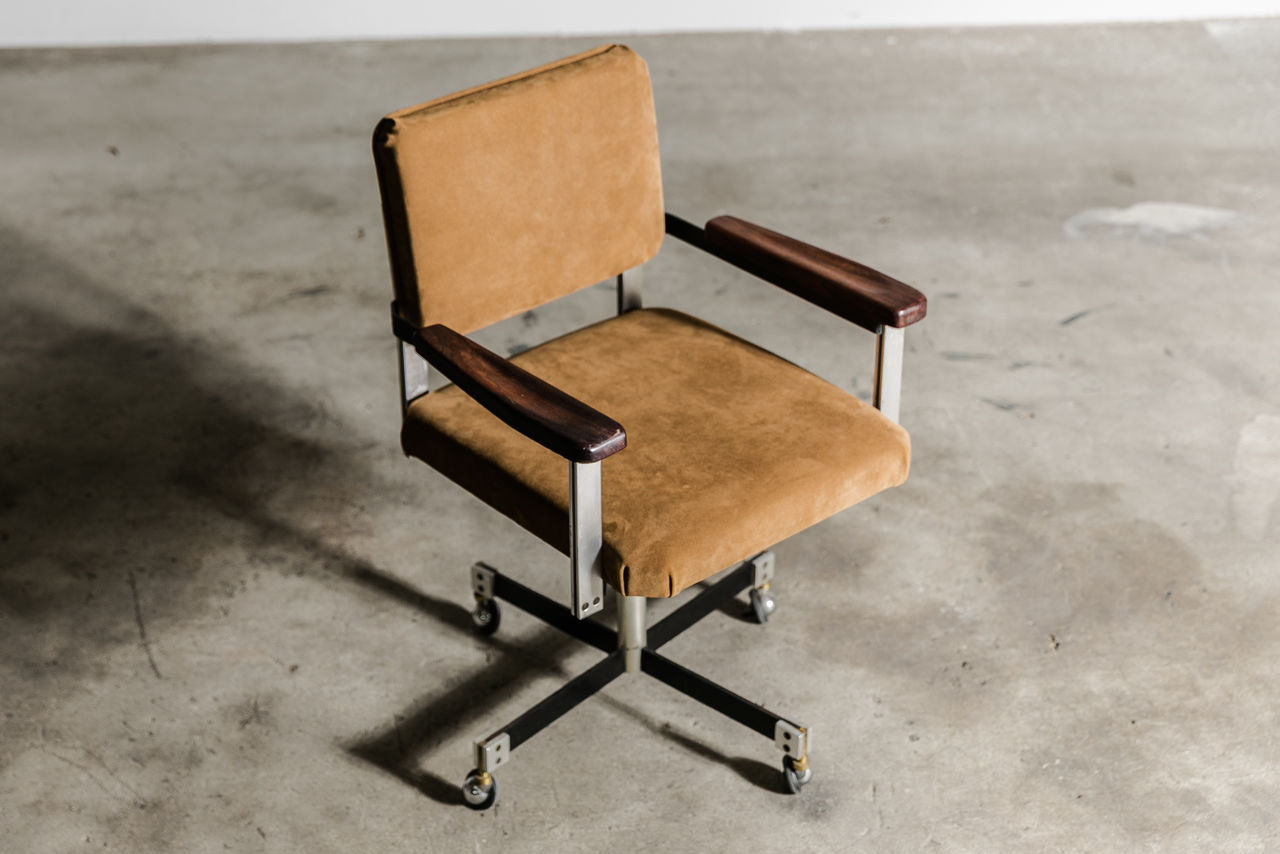 Officine Sordina Desk Chair Circa 1960 Italy