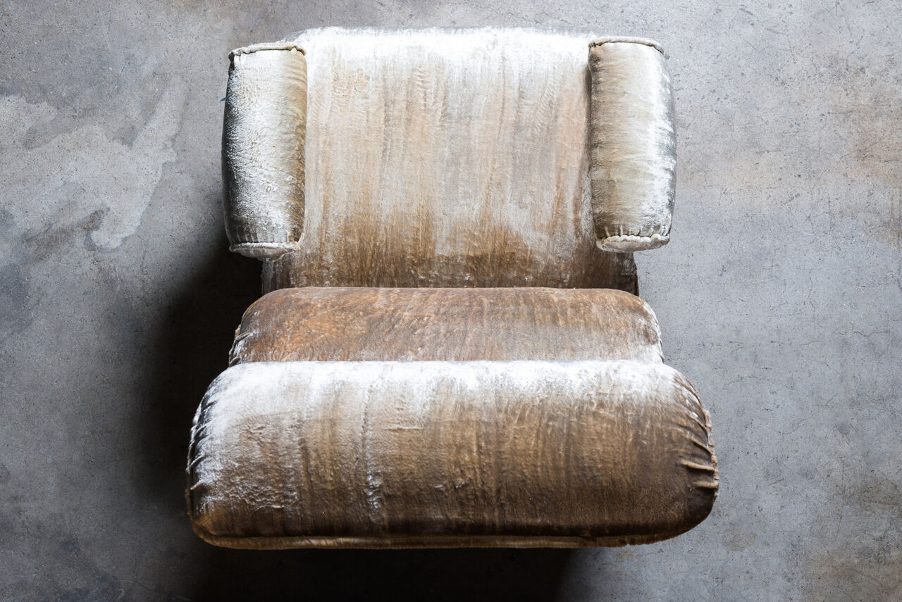 Onda space age lounge chair Italy 1970s