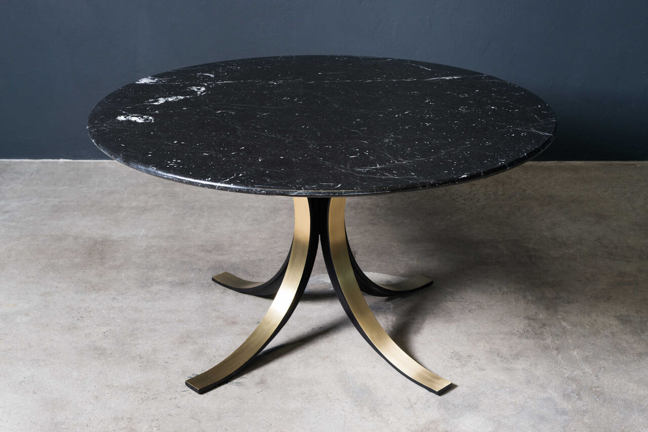 Osvaldo Borsani T69 dining table Tecno 1960s