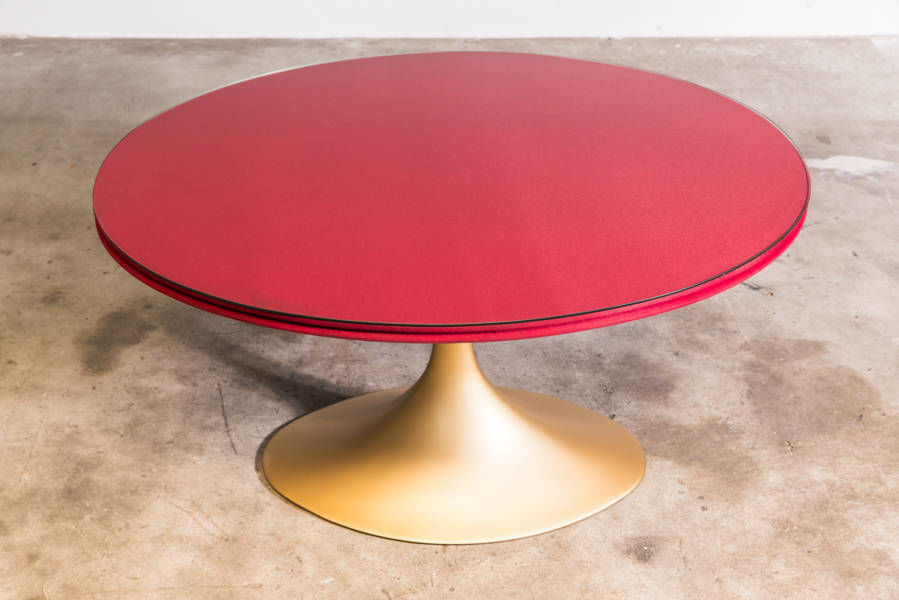 Oval Pedestal Dining Table by PGavazzi