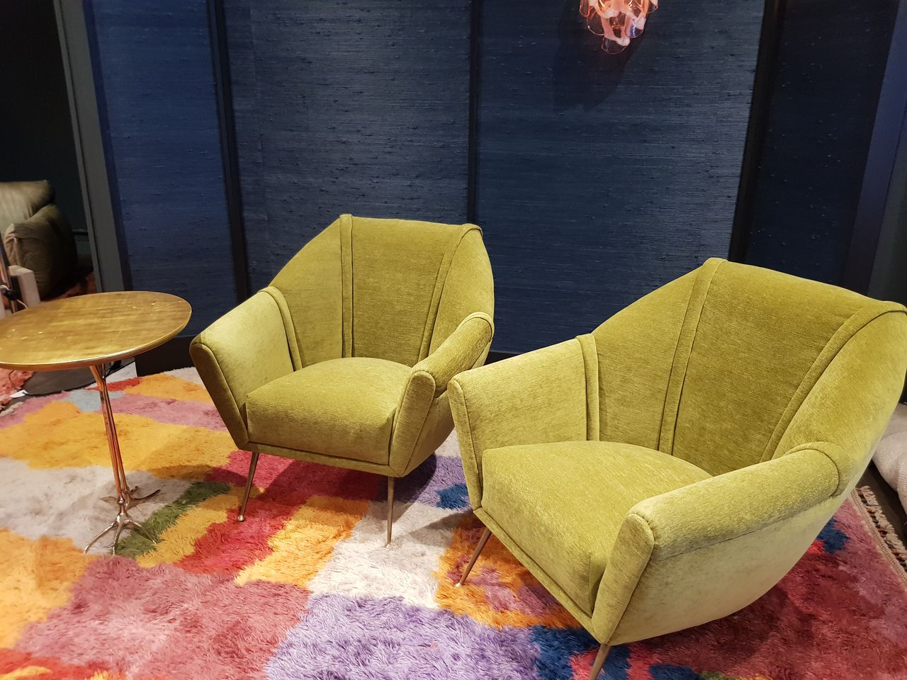Pair of 1950s Italian Lounge Chairs