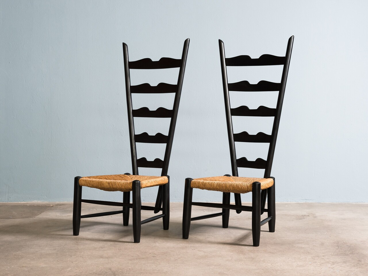 Pair of Fireside Chairs by Gio Ponti circa 1939