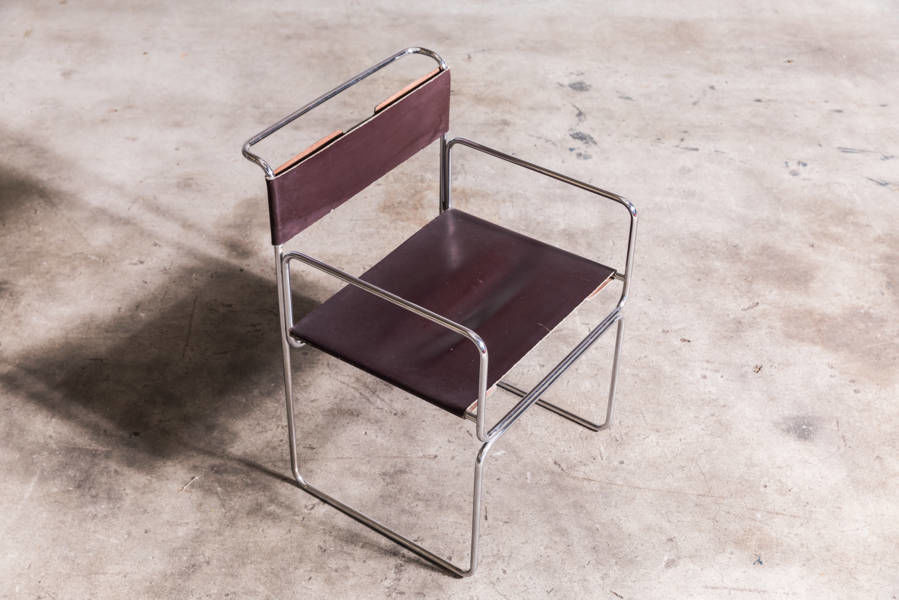 Pair of Planula Chairs by Giovanni Carini  1970