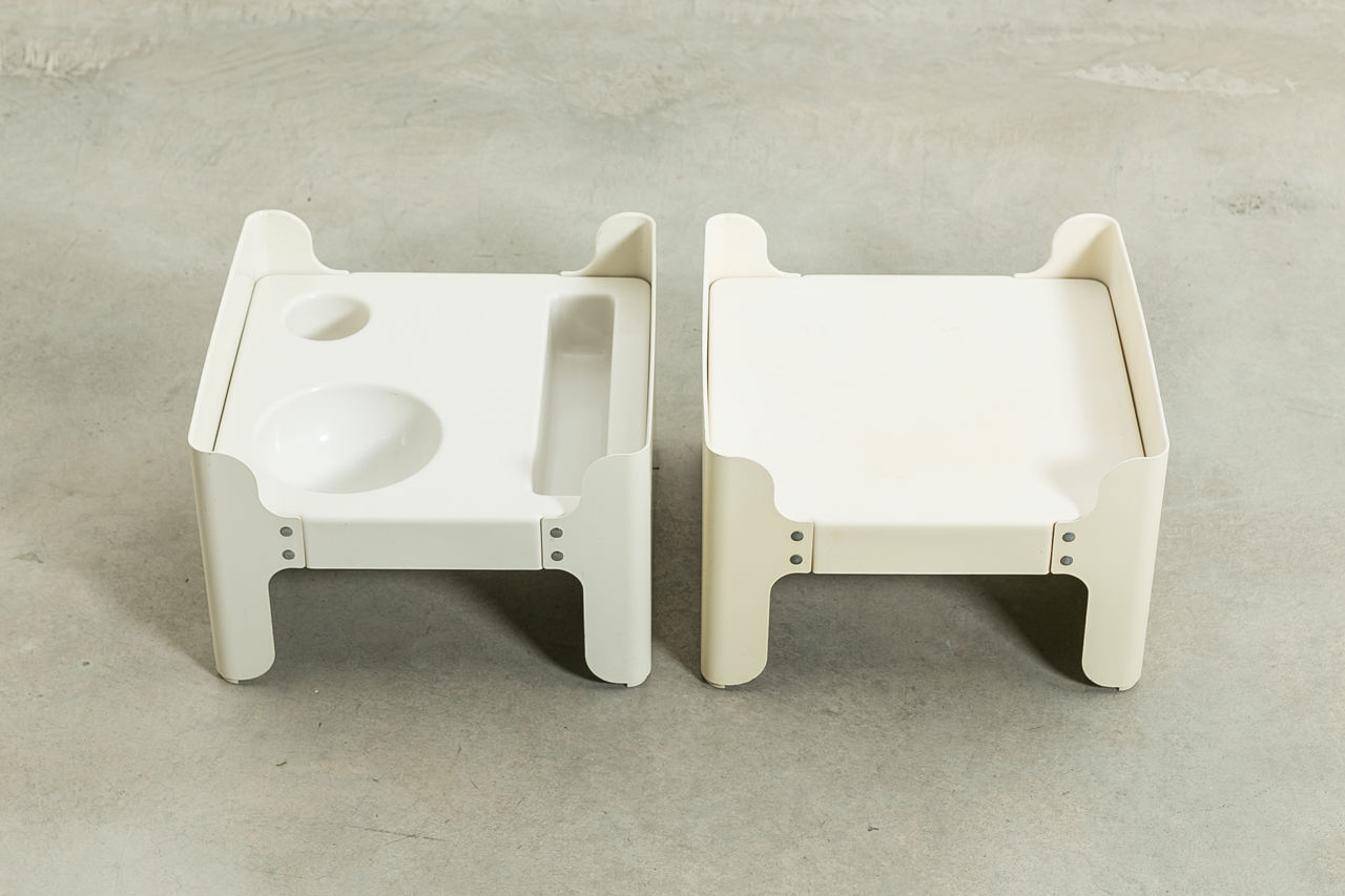 Pair of Vintage Stackable side tables