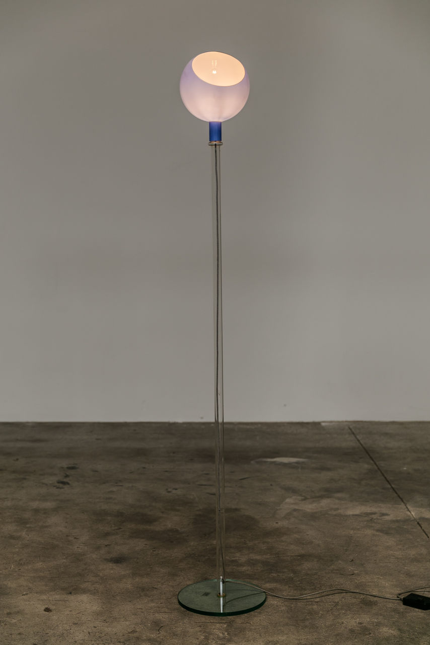 Parola Glass floor lamp for Fontana Arte