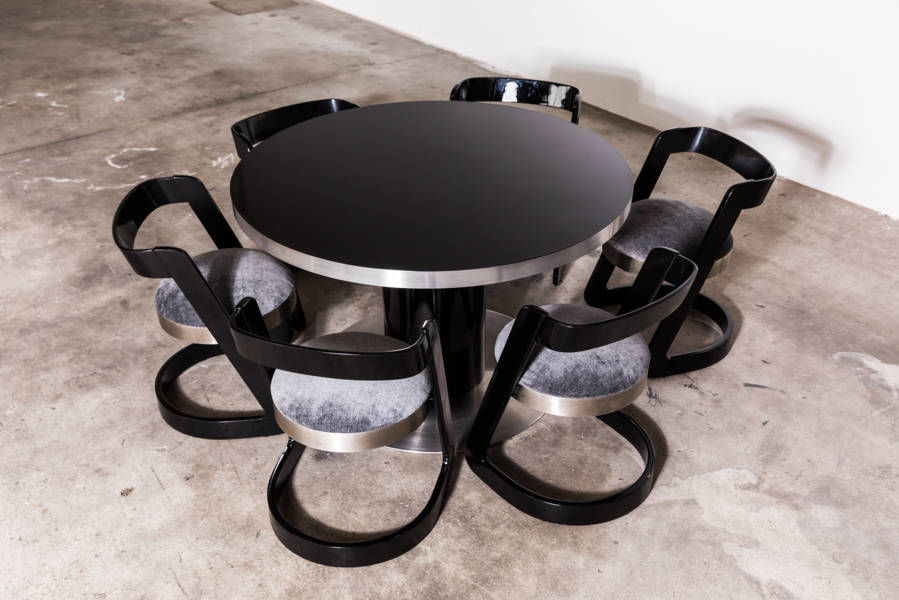 Pedestal Table Designed by Willy Rizzo