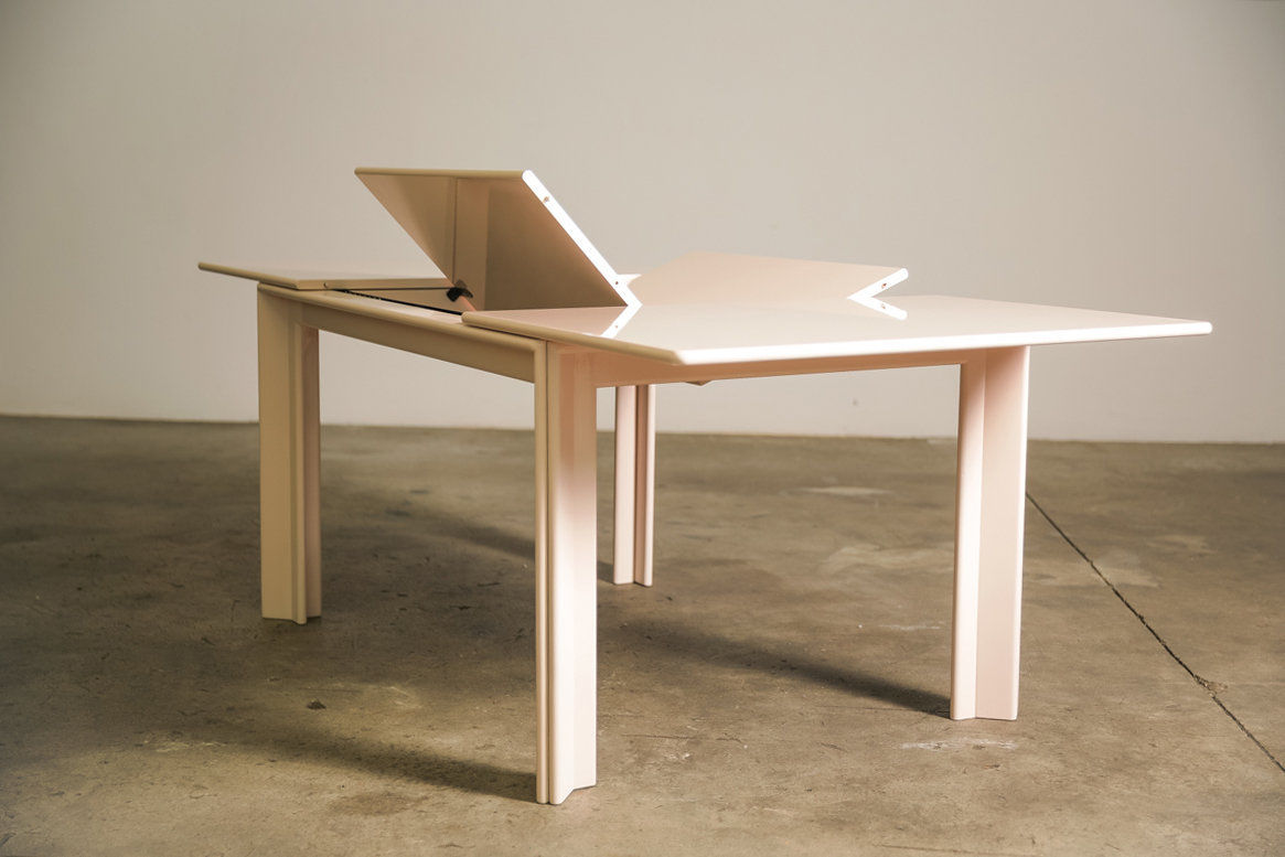 Pink MOU Dining table by Afra and Tobia Scarpa 1974