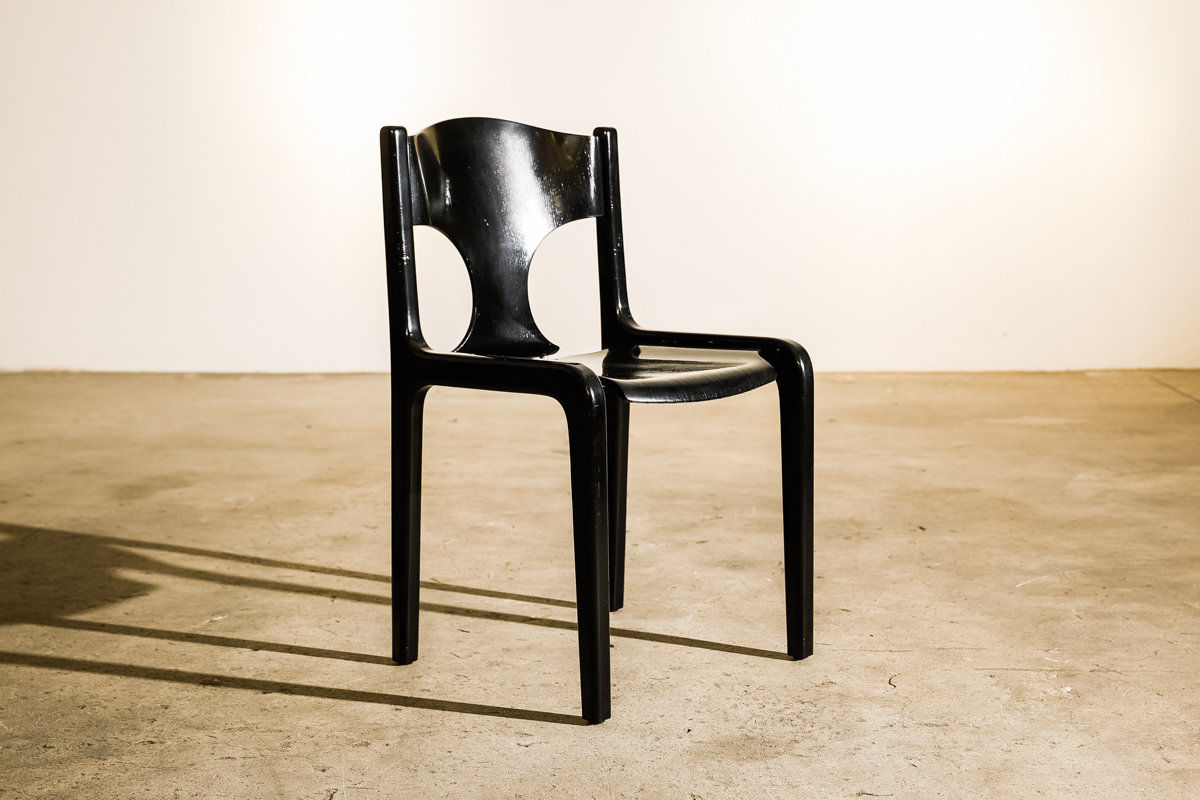Savini Chairs by Augusto Savini for Pozzi