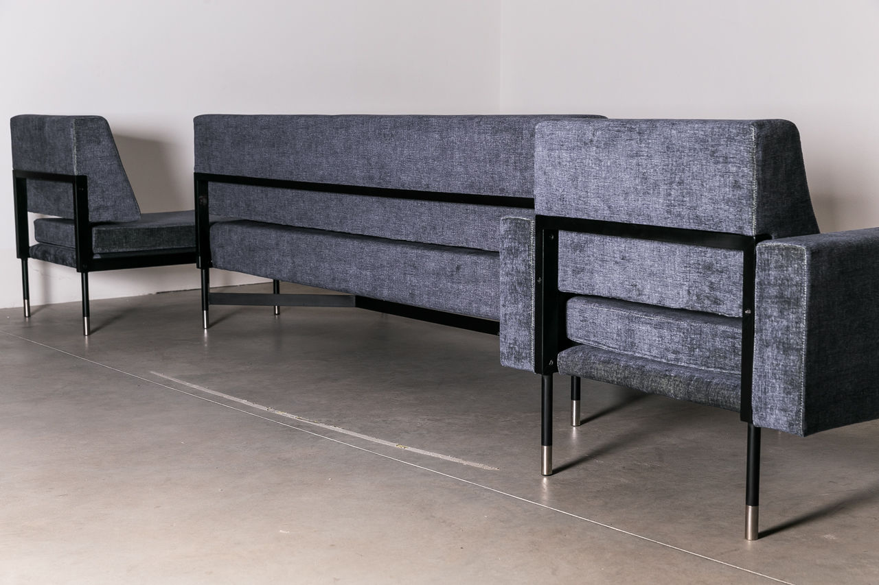 Select Italian Modular Lounge By Giuseppe Rossi Dalbizzate 1959