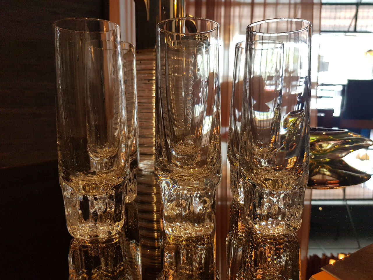 Set of 6 Crystal glasses
