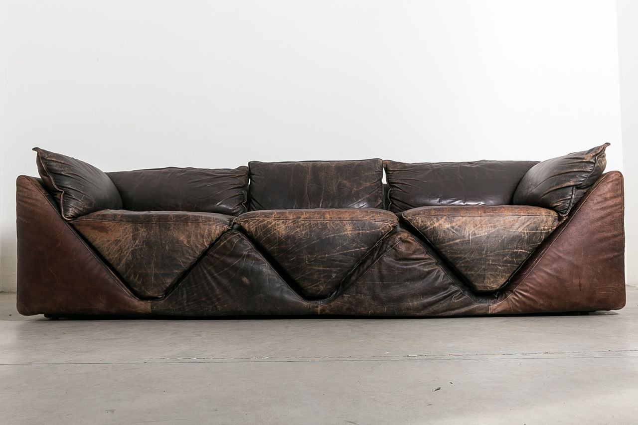 Silene Couch by G Gentile for Sormani Circa 1970 Italy