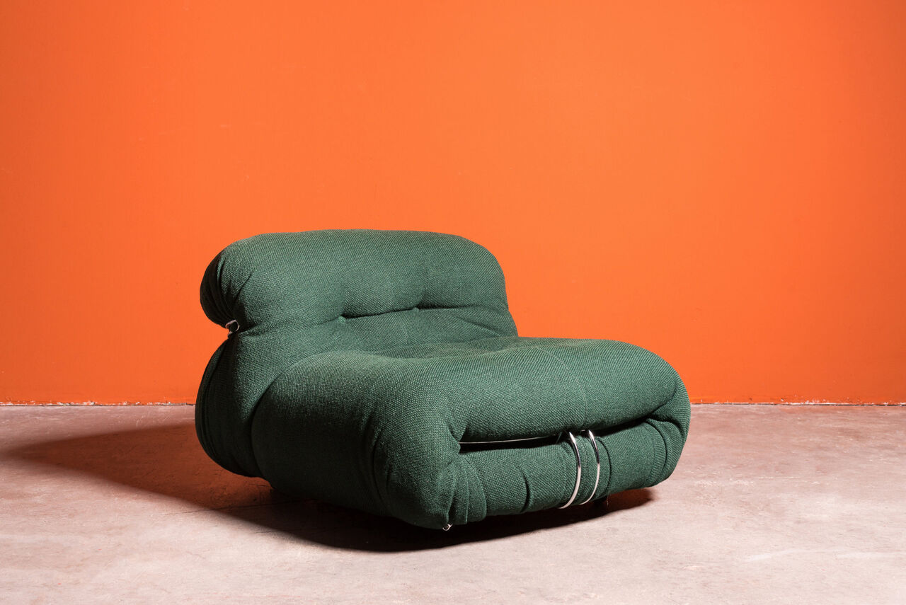 Soriana Lounge Chair By Afra and Tobia Scarpa for Cassina 1970 Italy