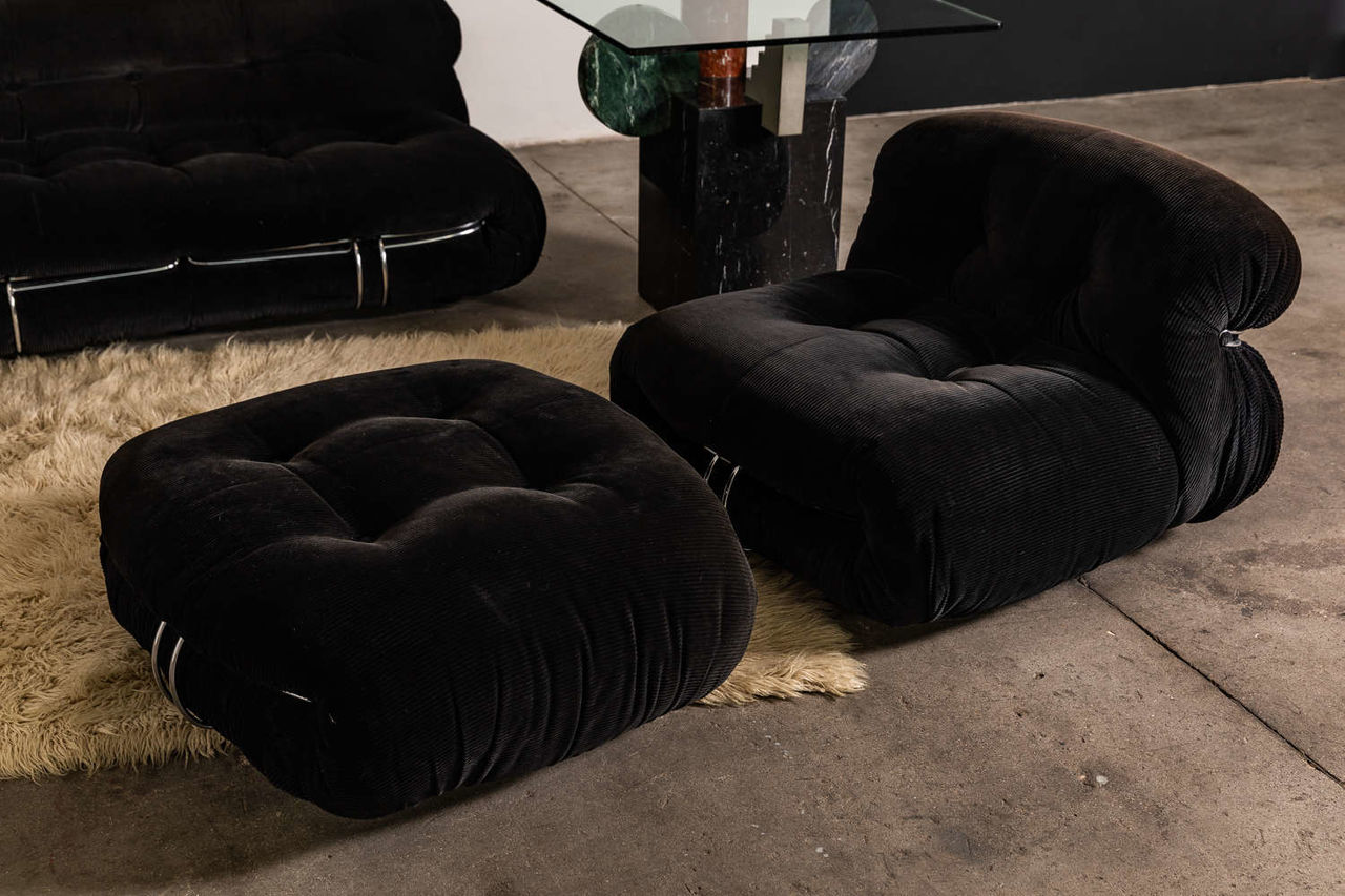 Soriana Lounge set by Afra and Tobia Scarpa