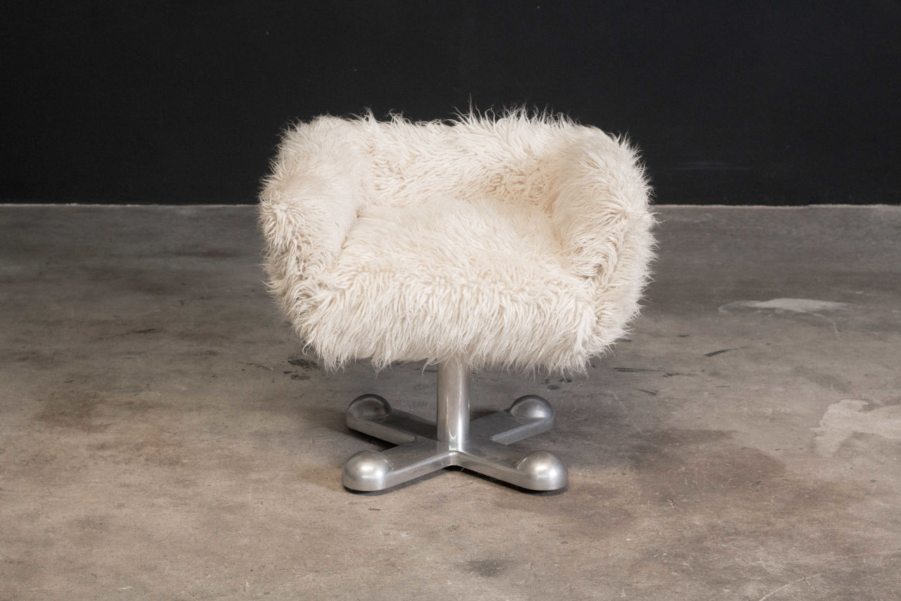 Sottsass Planula chair low back with armrest