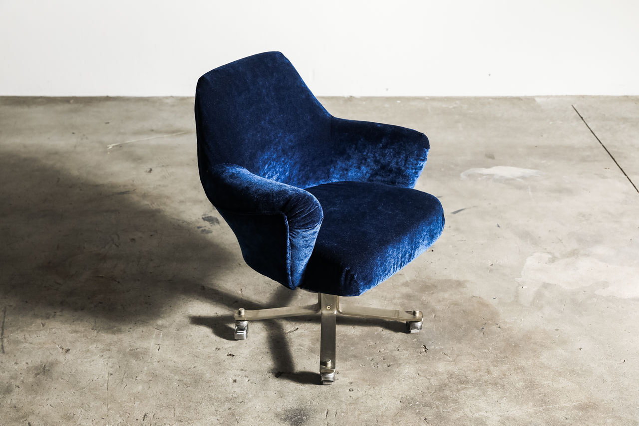Swivel Armchair by Moscatelli for Formanova carvers