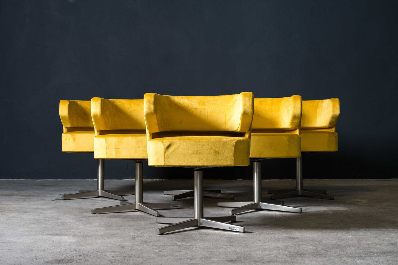 Swivel Chair by Moscatelli for Formanova